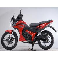 Cheap Chain Drive Red Honda Motorbike Wind Cooled , Kick Start for sale