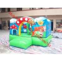 Cheap mini bounce house in inflatable castle for sale