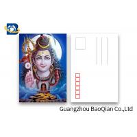 Cheap Customized 5D Effect 3D Lenticular Postcards 157g Coated Paper 5D Effect for sale