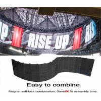Quality Foldable Modules Flexible Led Curtain Display Hanging Indoor Full Color For wholesale