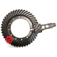 Cheap HINO Transmission System Crown Wheel And Pinion , Spiral Bevel Pinion Gear wholesale