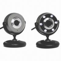 Buy cheap PC Webcam with Optical Lens and Built-in Digital Microphone from wholesalers