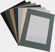 4x6 photo frame matboard /matboard paper frame