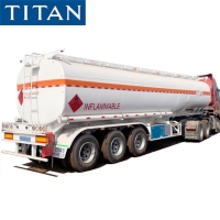 Buy cheap 45000 Liters Tri Axle Petrol Truck Tanker Trailer for Sale Transport Fuel from wholesalers