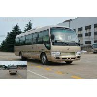 Environmental Passenger Mini Bus / Coaster Mini Bus Low Fuel Consumption