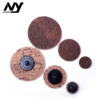 Cheap 2 Inch Quick Change Abrasive Discs Metal Polishing TS TR Type Support  Flax Nylon for sale