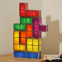 Cheap DIY LED Tetris Lamp Night Light LED Toys for House / Office Decoration for sale