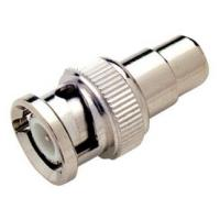 Cheap OEM 100% Copper CCTV Camera Accessories And Parts , BNC TO RCA Converter BNC- 056 for sale