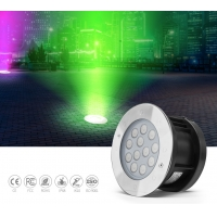 China External Control 380lm 9W SS316L LED Ground Pool Lighting on sale