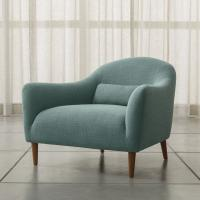 Cheap Armed Carlo Mid-Century Fabric Chair in Optional Colors for Living Room wholesale