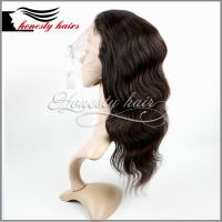 "Cheap Full lace wig, 14"" mix color BW 100% remy hair, Front lace/Machined wig can be customized. for sale"