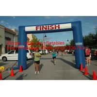 Cheap inflatable arch inflatable finish line arch for sale