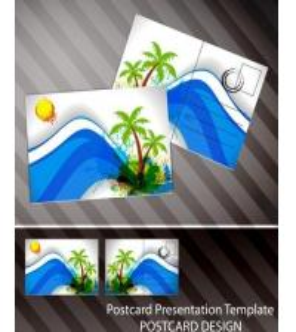 Cheap Souvenir scenery lenticular 3D printing postcard 3D flip picture post card price for sale