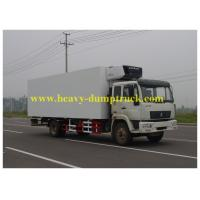 Cheap Commercial Truck Refrigerators 4X2 5 tons ZZ1047 for freezing food for sale