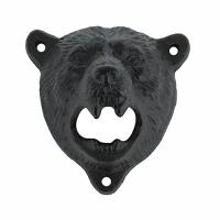 Cheap Best Seller Innovative Iron Bear Wall Mounted Bottle Opener for sale