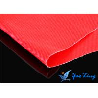 Cheap 18OZ Double Sides Silicone Coated Fiberglass Fabric With Good Fireproof Performance for sale