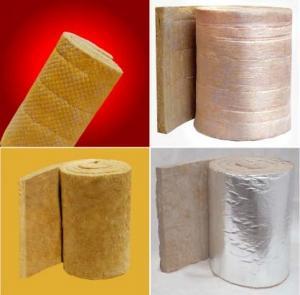 Cheap Rockwool Sound Insulation Refractory Blanket / Cloth Felt / Wire Netting Felt for sale