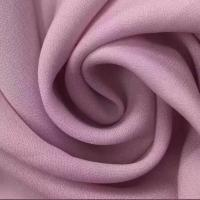 Cheap 100% Polyester 75D*75D Diamond Hemp Style Plain Dyed Cloth Material Fabric/Chiffon Crepe Fabric for sale