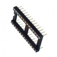 China IC Chip Pedestal Integrated Circuit Socket With Wide Body Chip Base on sale