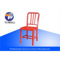 Quality Leisure Mod Aluminum Modern EMECO Navy Side Chair With Powder Coating wholesale