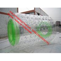 Cheap inflatable water roller with 1.0mm PVC or TPU , Fluorescence inflatable roller for sale