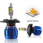 Cheap XPH50 H11 Led Headlight Bulbs Die Casting Aluminum Housing Material for sale