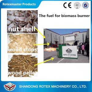 Cheap Energy Saving Biomass Pellets Machine / Wood Pellets Burner For Stove for sale