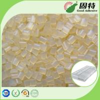 Cheap Yellowish Spring Hot Melt Pellets, EVA Hot Melt Glue Adhesive Granule for Pocket Coil Mattress Outer Cotton Packing for sale
