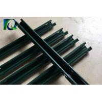 Cheap 2.4M Height Vineyard Steel Grape Trellis Posts With Green Color Powder Coated for sale