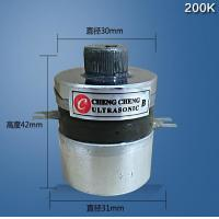 Cheap Light Weight High Power Ultrasonic Transducer 200K High Frequency for sale