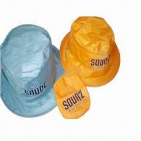 Cheap Visor/Promotional Hats with Thin Nylon Fabric, Lightweight and Comfortable for sale