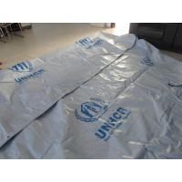 Cheap Reinforced Plastic Tarpaulin Plastic Sheets/Rolls on UN/MSF/IFRC specifications for sale