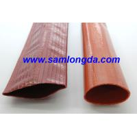 PVC layflat water discharge hose, Working pressure 9bar, Korea tech woven structure