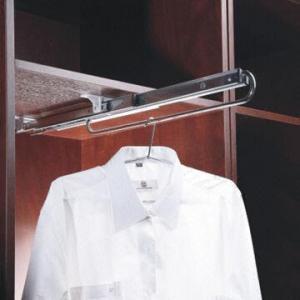 China Wardrobe/Storage/Organizer/Garment Rack, Pull Out, Chrome Plated, Closet Rack, Coat Hanger on sale