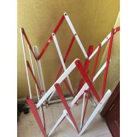 Cheap Protecting Construction Metal Fence Accessories Folding Metal Traffic Barrier for sale