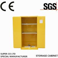 Cheap Industrial Safety Flammable Storage Cabinet / Equipment , Fire Resistant Cupboards for sale