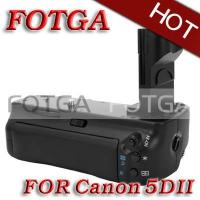 Cheap Fotga Vertical Battery Grip Replacement for Canon EOS 5D Mark II 5D II BG-E6 for sale