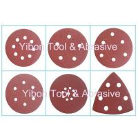 Cheap Various Shape Wolf abrasive paper velcro disc for sale