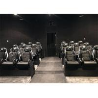 Cheap Real Leather Interactive Mobile 5D Cinema Chair 3 Degrees Of Freedom / 5D Cinema System for sale