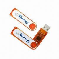 Cheap Promotional USB Flash Drives with Hot-swap Capability/Plug-and-play Functions, Your Colors Accepted for sale