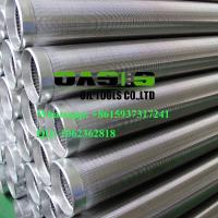 stainless steel continuous slot johnson screens pipe for well drilling