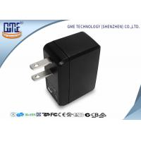 Cheap Portable USB Travel Adaptor Single Port 5v 0.5A Black Color For Cell Phone for sale