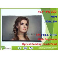 Cheap 10.1 Inch 1920 x 1200 IPS Tablet LCD Screen 370cd / m² Brightness for sale