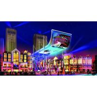 Cheap 180 / 360 Degree Front Service LED Display Foldable With Hanging Stacking / Attaching for sale