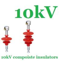 Cheap ANSI 10kV Power Suspension Insulator String High Aging Resistance wholesale