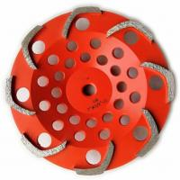 Cheap 8 segments L shape Top quality Diamond Grinding Cup Wheel for Griinding Concrete for sale