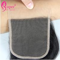 Cheap Transparent Swiss Lace Virgin Hair Closures Cuticle Aligned Raw Brazilian for sale