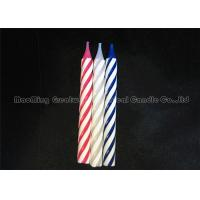 Quality Electronic Singing Musical Birthday Candle Thick Spiral Shape Green wholesale