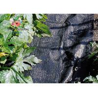Cheap Black Garden Plant Accessories - Tear Proof Weed Block Fabric / Weed Control Fabric for sale