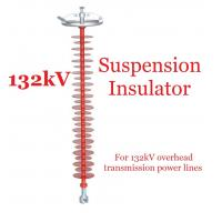 Cheap 132kV Polymer Suspension Type Insulators Light Weight For Substations for sale